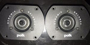 "PAIR OF POLK AUDIO LSIFX LC 01530 -1"" Ring Radiator tweeter RD0517-1 for Sale in Lansing, IL"