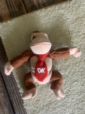 Donkey Kong stuffed animal for Sale in Cuyahoga Falls, OH