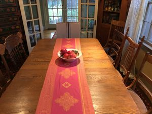 Antique Dining Table -Solid Oak for Sale in Austin, TX