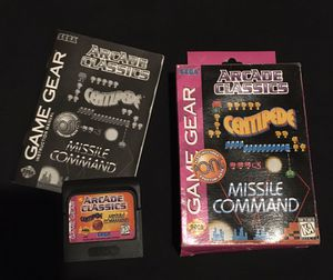 Sega Game Gear Arcade Classics for Sale in Gilmer, TX
