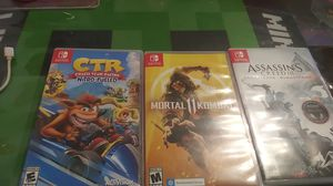 Nintendo switch games for Sale in Santa Ana, CA
