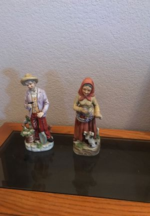 Old Lady and Old man statues for Sale in Fresno, CA