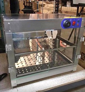 Catering/ Commercial/ Event Food Warmer with double Tier for Pizza 🍕, Churros, Pretzels and more for Sale in Chino, CA