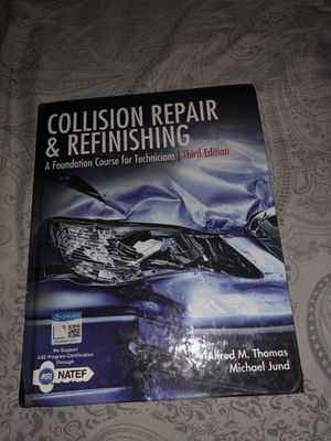 Collision Repair and Refinishing 3rd Edition for Sale in Riverside, CA