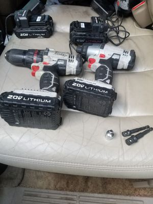 Porter cable 20v cordless drill and impact for Sale in Graniteville, SC
