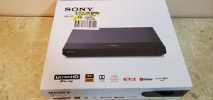NEW Sony 4k Player Model UBPX700 for Sale in Riverside, CA