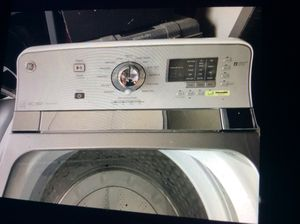 G e. Largest capacity washer and dryer matching 2 yrs old {contact info removed} for Sale in Columbus, OH