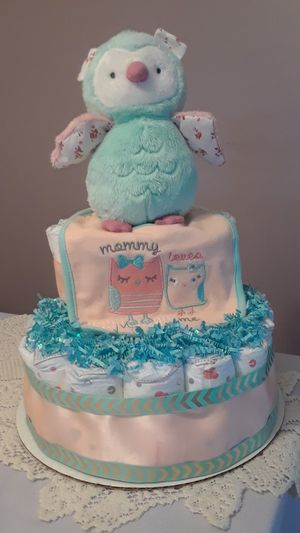 Diaper cake - Owl for Sale in Sunrise, FL