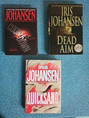 Iris Johansen Novels-3/$13 or 1/$5 for Sale in Newburgh, IN