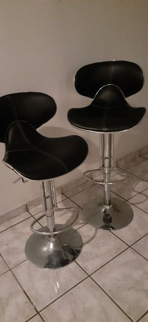 BARSTOOLS ADJUSTABLE HEIGHT for Sale in Santa Ana, CA