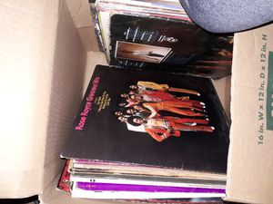 Box of old records for Sale in Melrose, MA