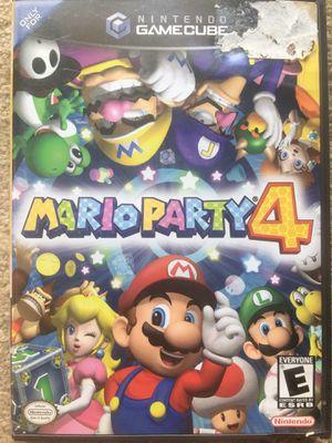 Mario Party 4 (Gamecube) for Sale in Fairfax, VA