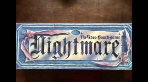 Nightmare Virtual board game w/ VHS for Sale in Tacoma, WA