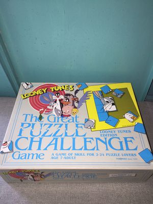 Looney Tunes Puzzle Challenge for Sale in Los Angeles, CA