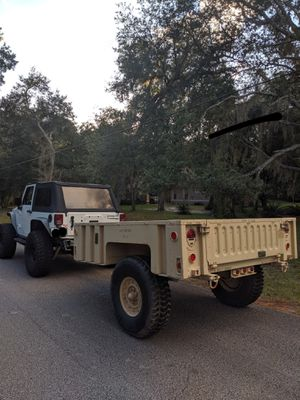 MILITARY TRAILER M1102 CAMPING UTILITY for Sale in Oviedo, FL