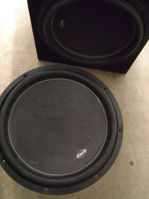 American bass XR 15s 6000 watts - 3000 watts RMS dual 4 ohm subwoofer $350 in custom box tuned to 32 hz box is 6 cubic feet** for Sale in Mesa, AZ