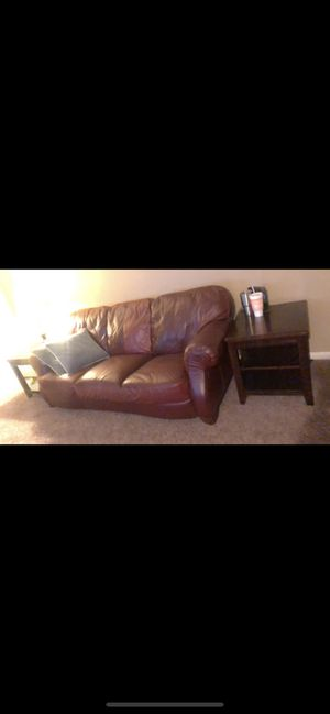 Couch and side tables for Sale in Odessa, TX