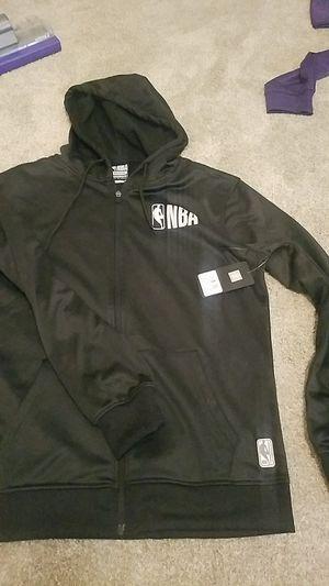 NBA black sweatshirt jacket for Sale in Henderson, NV