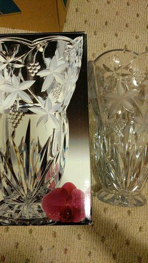 "Mikasa crystal vase 10.5"" for Sale in Woodbridge, VA"
