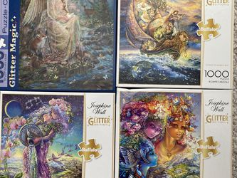 Puzzles $5 Each Or 11 for $50 Cash Only for Sale in San Angelo,  TX