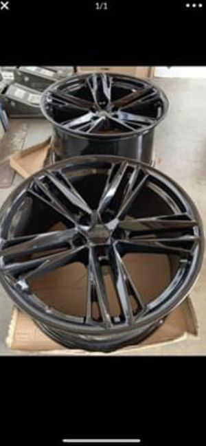 """Camaro 20""""new zl1 style rims tires set for Sale in Hayward, CA"""