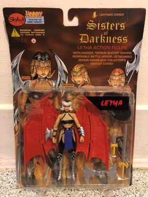 Sisters Of Darkness Letha Action Figure for Sale in Queens, NY