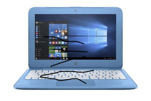 "HP Stream 11-y010nr 1.6GHz N3060 11.6"" 1366 x 768pixels Blue Notebook for Sale in Whittier, NC"