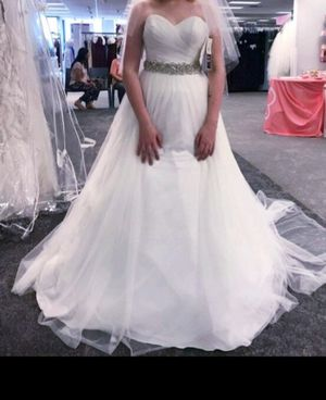 David bridles wedding dress for Sale in Marrero, LA