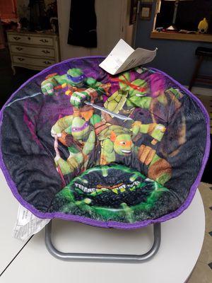 brand new Nickelodeon Mutant Ninja Turtle kids folding chair for Sale in Colton, CA