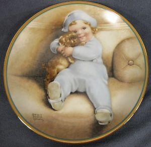 Bessie Pease Gutmann-Going To Town plate