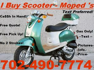 Scooter. Moped. Buyer. - $300 for Sale in North Las Vegas, NV