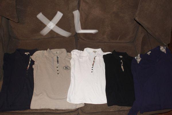 Burberry shirts