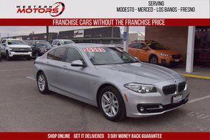 2015 BMW 5 Series for Sale in Los Banos, CA
