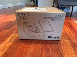 Klipsch Surround / Dolby Atmos New in Box Unopened (395$ ask, sells for 459$+tax) for Sale in Milpitas, CA