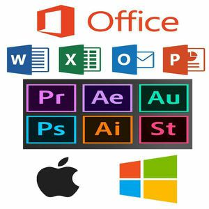 Adobe Photoshop Master Suite, Microsoft Office, Video Editing software, CAD drawings software and more for Sale in Wellington, FL