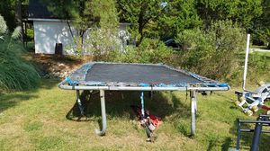 FREE Trampoline and basketball hoop for Sale in Seaford, VA
