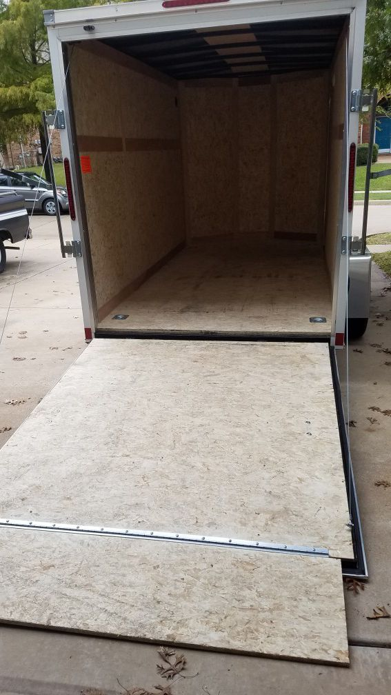 Wells Cargo Enclosed Trailer 7.5'x12'x6.5'