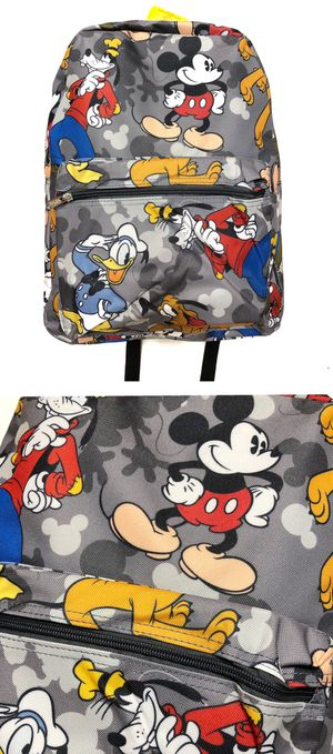 NEW! Disney Mickey Mouse Backpack Minnie School Bag shoulder bag Travel Bag Shoulder bag book bag galaxy's Edge kids bag Disneyland for Sale in Carson, CA