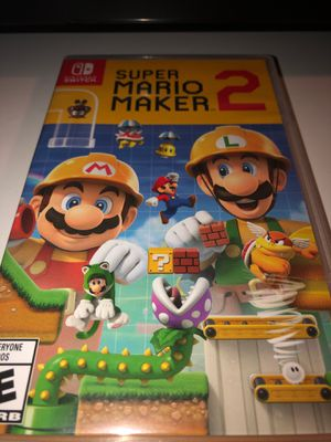 Super Mario maker 2 for nintendo switch for Sale in San Diego, CA