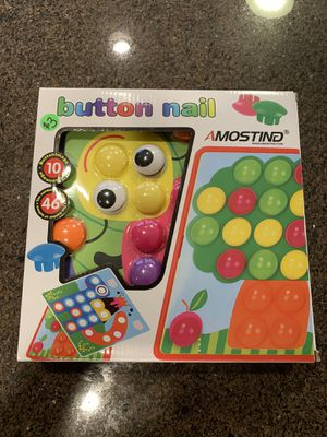 Kids game - Button Nail - Never used/opened for Sale in Aurora, OR