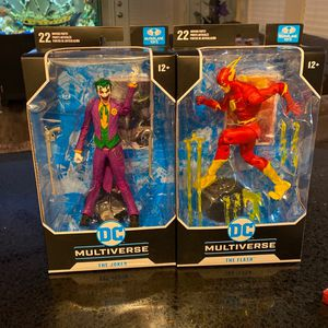 McFarlane Toys Dc Multiverse for Sale in Broomfield, CO