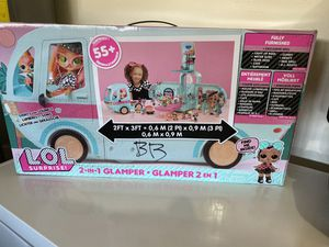 L.O.L. Surprise! 2-in-1 Glamper Fashion Camper with 55+ Surprises for Sale in Goodyear, AZ