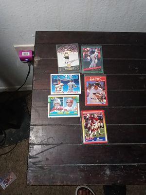 Football baseball All-Star cards for Sale in Azalea Park, FL