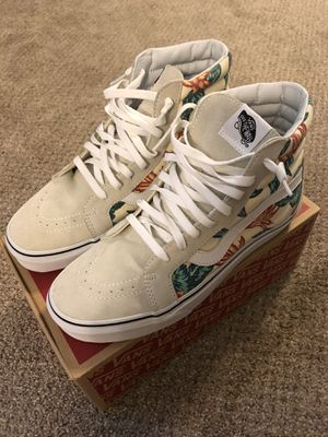 Vans Sk8-Hi Vintage Aloha Size 9 NEW for Sale in PT ORANGE, FL