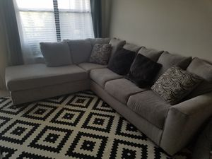 Sectional Couch and Pillows for Sale in The Colony, TX