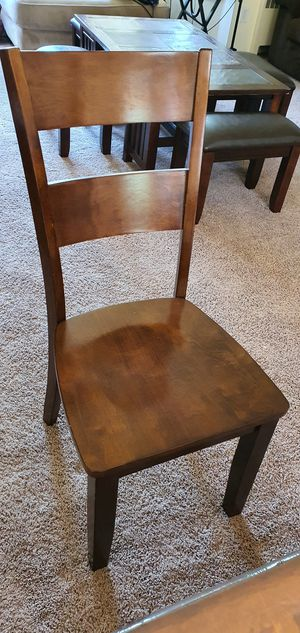 2 chairs wooden for sale for Sale in Westlake, MD