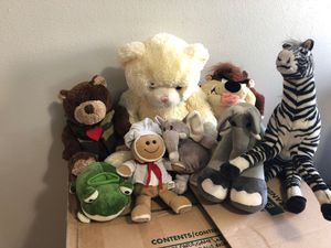 Assorted stuffed bears for Sale in Los Angeles, CA
