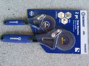 2 pc strap wrenches for Sale in Cleveland, OH