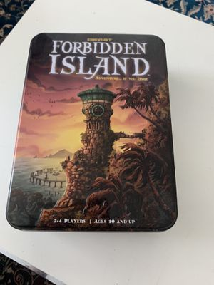 Forbidden Island – The Cooperative Strategy Survival Island Board Game. Barely used or even never used! for Sale in San Diego, CA