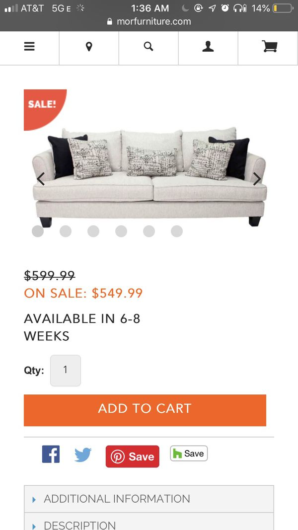 Full Size Couch (swipe for photos)
